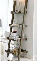 """Стеллаж лестница для кухни из массива дерева """"Стелла"""" от производителя"""