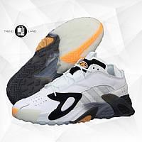 Мужские кроссовки в стиле Adidas StreetBall White\Black\Orange