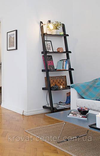 """Стеллаж лестница для гостиной из массива дерева """"Стелла"""" от производителя"""