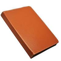Универсальный поворотный чехол для планшета Top Trends 10 дюймов коричневый