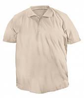 Мужская футболка поло большого размера «Зорий» (Черная, хаки, бежевая, серая, белая | 4XL, 5XL)