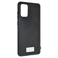 Чехол-накладка Silicone Molan Cano Jelline Bumper для Samsung Galaxy S20+ (SM-G985) (black)