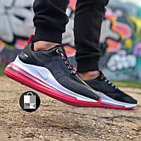Женские кроссовки в стиле Nike Air Max 720 Run Grey\Pink Серые с розовым