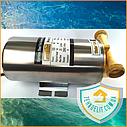 Повысительный бесшумный насос для повышения давления воды в квартире в доме Euroaqua 15WB-14, фото 4
