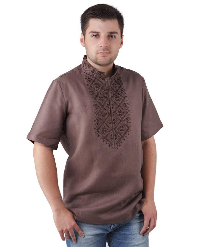 Вишита чоловіча сорочка ВОЛ-Cornett (розміри S-3XL)