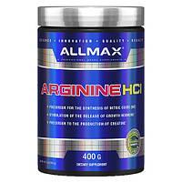 AllMax (Канада), Arginine HCl (400г=80 порций), аргинин, аргінін