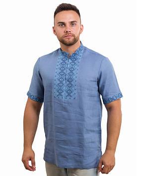 Чоловіча вишита сорочка (розміри S-3XL)