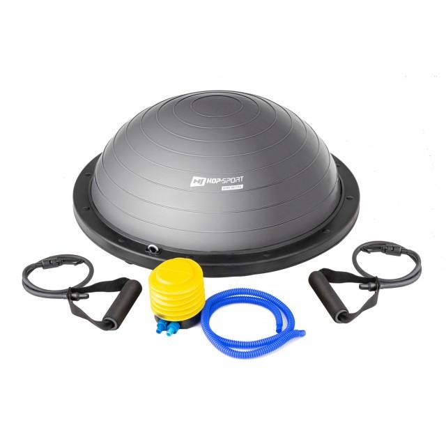 Балансировочная платформа босу до 200 кг Bosu Hop-Sport HS-L058 серый
