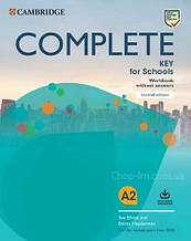 Complete Key for Schools Second Edition Workbook without Answers with Audio Download / Тетрадь