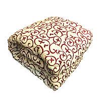Одеяло полуторное холлофайбер СТАНДАРТ, ткань бязь (поликоттон)