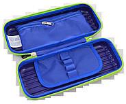 Пенал твердий  YES 3D Oxford ОX5596 синий, 21*9.5*5, фото 2
