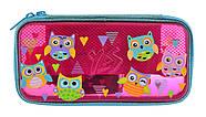 Пенал твердый YES пластиковый 3D HP-07 Funny Owls, фото 3