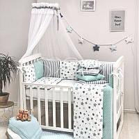 Комплект Baby Design Премиум Stars, мятный, фото 1