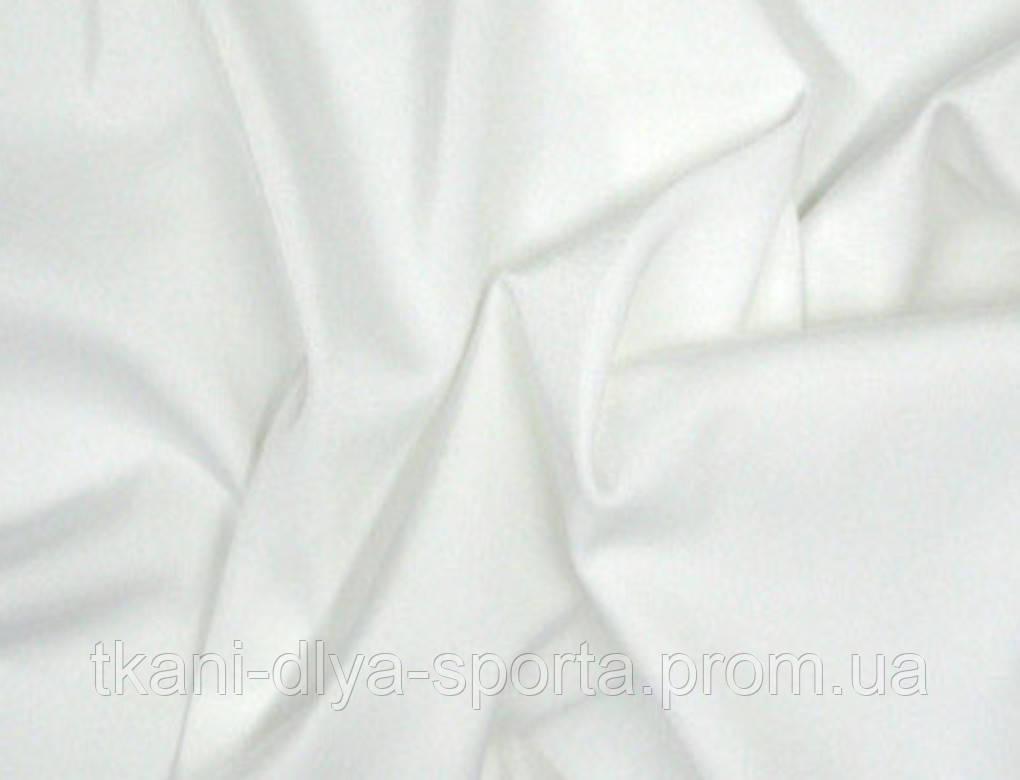 Термоткань тонкая белая