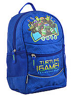 Рюкзак детский 1 Вересня K-20 Turtles 29х22х15.5см Синий (555501)