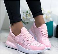 Текстильные дышащие и легкие розовые кроссовки в стиле Nike Hfpvth 36 37 38 40 41