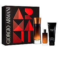 Чоловічий подарунковий набір GIORGIO ARMANI Code Profumo східні духи 110ml + парфуми 15ml + гель для душу 75ml