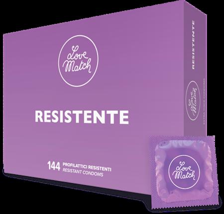 Презервативи - Resistente (Strong), 54 мм, 144 шт.