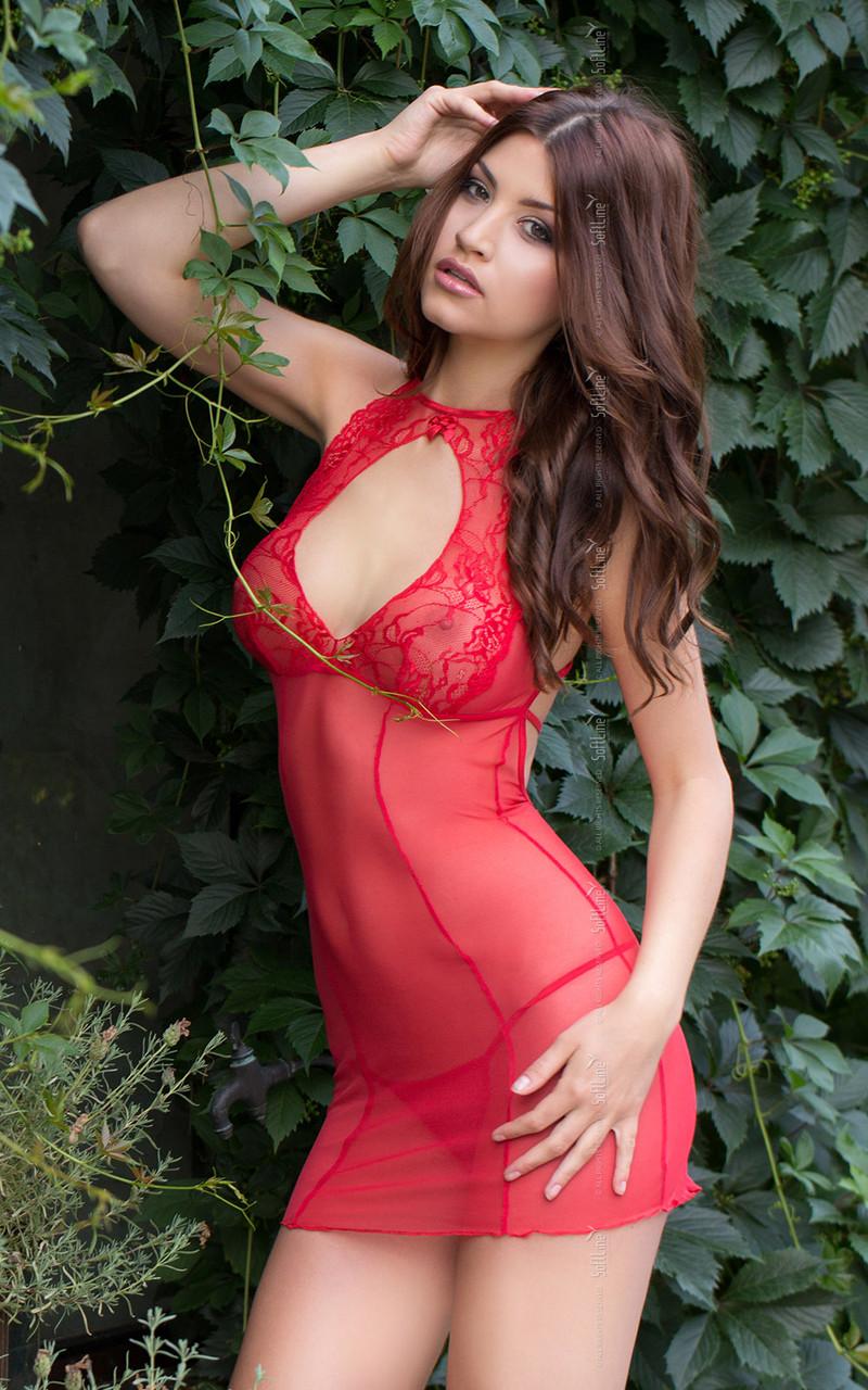 Пеньюар - Sonia, червоний