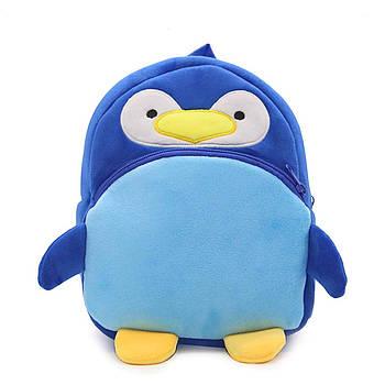 Рюкзак велюровый Пингвин Berni
