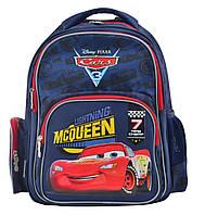 Школьный рюкзак для мальчика с вентилируемой спинкой 1 Вересня S-25 Тачки 28х36х13 см 13л Разноцветный (5056137119660)(555280)+Подарок 3 месяца