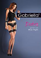 Панчохи з поясом - Garter Set Blue Night, фото 2