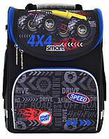 Школьный каркасный рюкзак для мальчика Smart PG-11 Speed 4х4 34х26х14см 12л (557941)(4823091906084)+Подарок 3 месяца пользования приложением