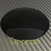 Наклейка для дисков Без логотипа черный. 65мм. Металл.