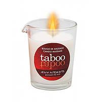 Масажна свічка - TABOO Jeux Interdits, 60 г, фото 3