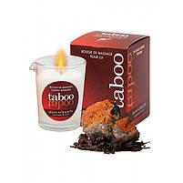 Масажна свічка - TABOO Jeux Interdits, 60 г, фото 4