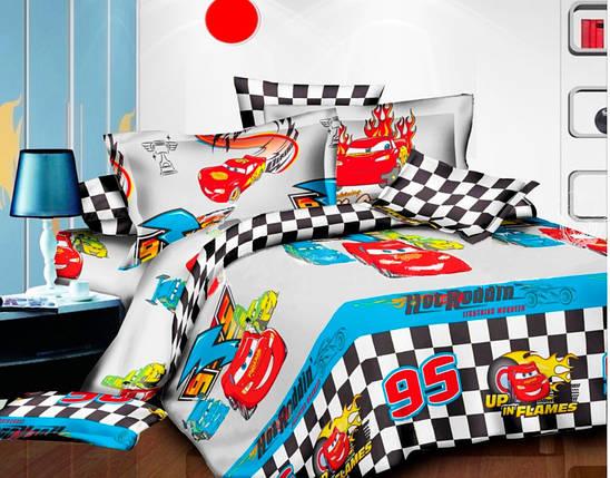 Комплект постельного белья на кнопках Atelier Romana хлопок полуторной детский 145х210, фото 2