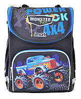 Школьный каркасный рюкзак для мальчика Smart PG-11 Power 4*4 12л Разноцветный (5056137135974)(555977)+Подарок 3 месяца пользования приложением