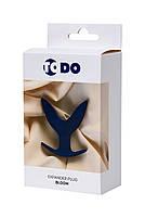 Розширює анальна пробка ToDo By Toyfa Bloom, силікон, синя, 9,5 см, фото 7