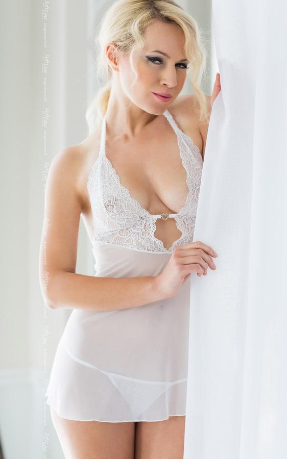 Пеньюар - Holly, білий