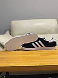 Кроссовки  натуральная замша Adidas Gazelle Адидас Газель, фото 8
