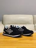 Кроссовки натуральная замша New Balance 574  Нью Беланс, фото 6
