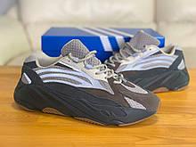 Кроссовки натуральная кожа Adidas Yeezy Boost 700 Адидас Изи Буст