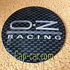 Наклейка для дисків OZ Racing. 65мм. Метал. ( ОЗ рейсінг )
