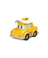 Кап такси металлическая машинка 6см Robocar Poli 83175
