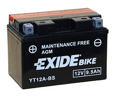 АКБ EXIDE ET12A-BS = YT12A-BS