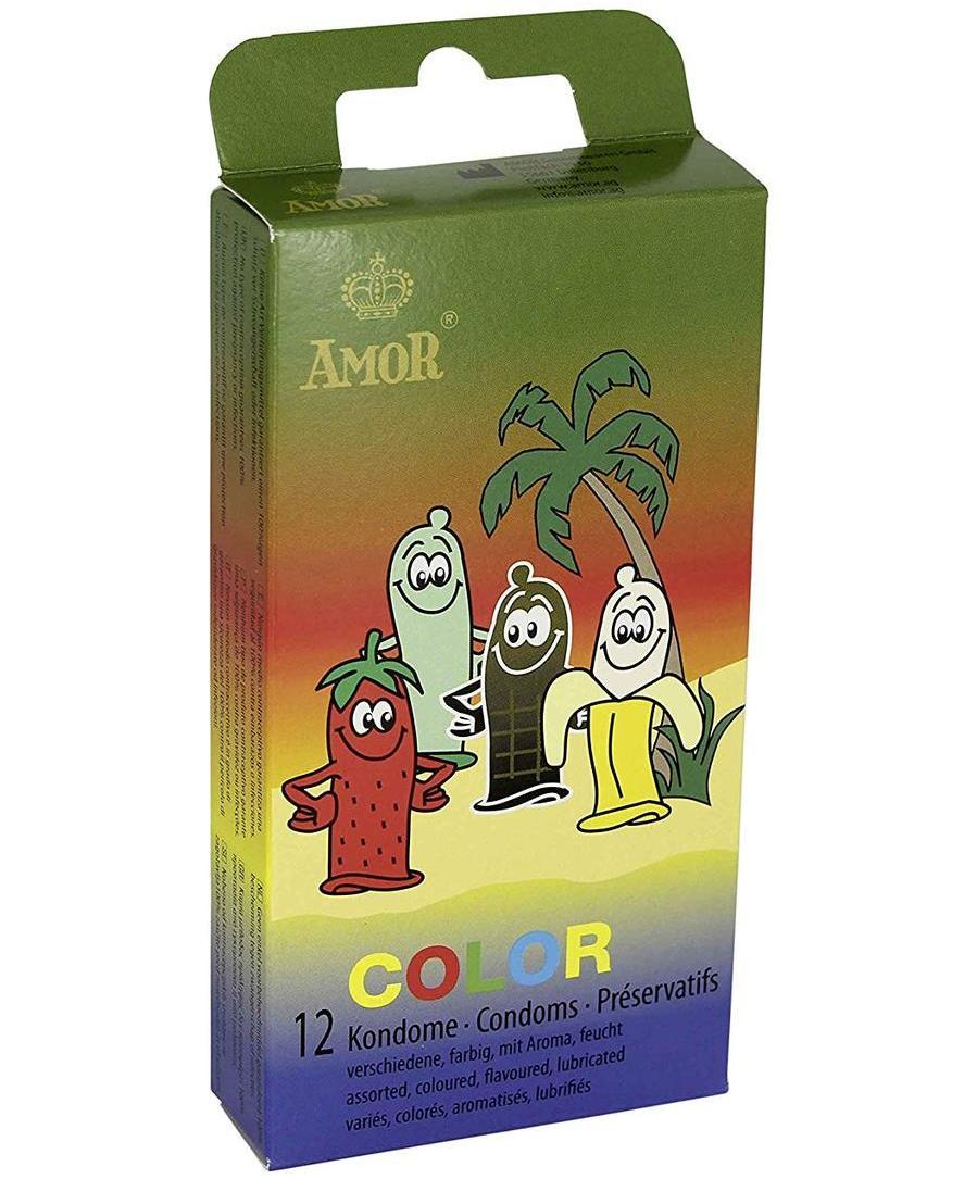 Презервативи - Amor Color, 12 шт.