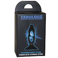 Стимулятор простати - Fabulous Contraction and Expansion Black, фото 6