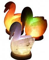 """Соляная лампа """"Лебедь"""" 3-4 кг"""