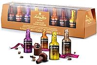 Anthon Berg Chocolate Coffee Liqueurs 250 g- Набор шоколадных бутылочек с кофейными алкогольными коктейлями