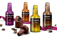 Anthon Berg Chocolate Coffee Liqueurs - Шоколадные бутылочки с кофейными алкогольными коктейлями, 1 шт.