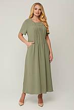 Сукня стильна з крепу