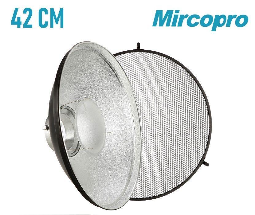 Портретная тарелка Mircopro 42 см с рассеивателем и сотами (Новая)