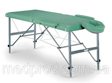 Стол массажный раскладной складной переносной, материал конструкции алюминий, фото 1