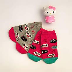 "Детские носки на девочку V&T socks с рисунком ""Kitty"""