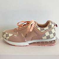 Кроссовки женские розовые LaVento